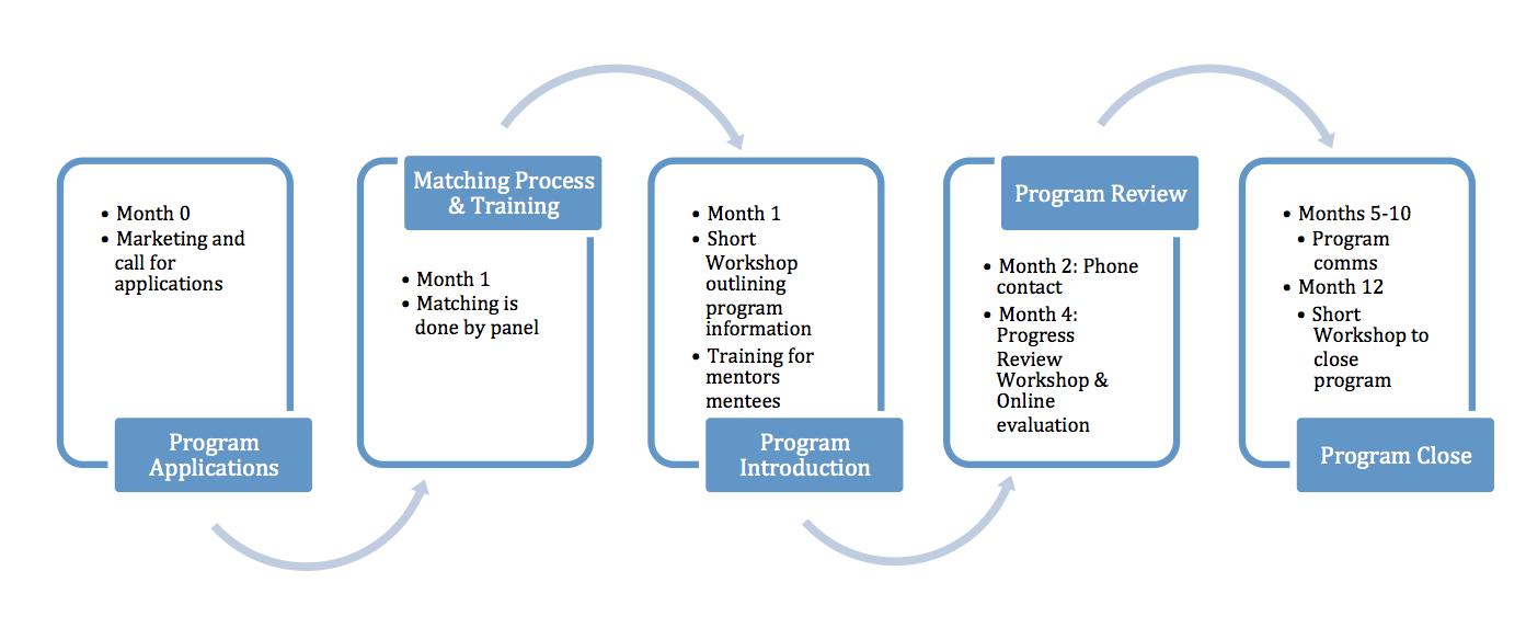 association mentoring structure
