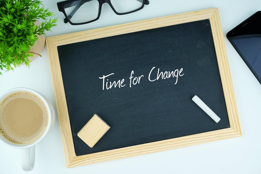 change not happening