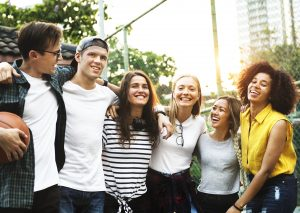 Millennial mentoring| A happy group of millennial aged people