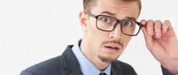 Man looking scared for men mentoring women