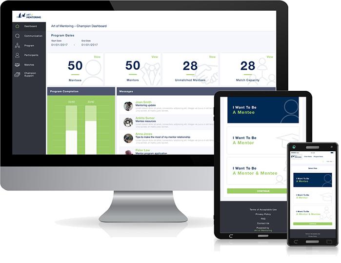 mentoring software platform on devices
