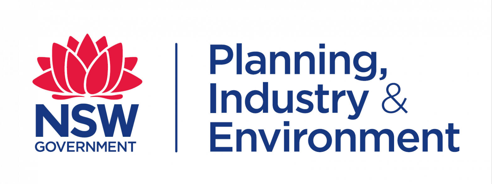 Dept planning and industry logo