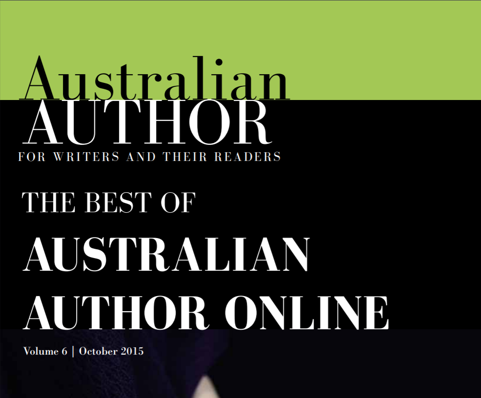Screenshot of Author Online article from 2015