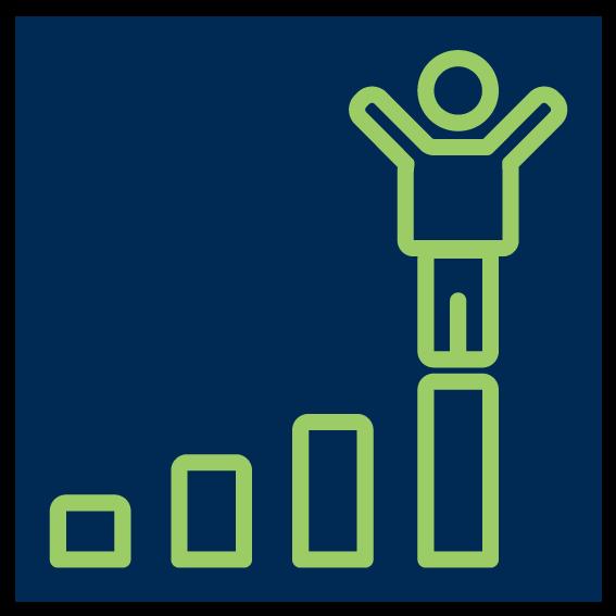 success graph icon